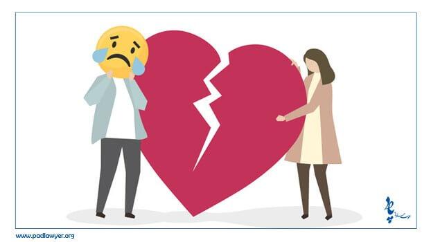 درخواست طلاق از سوی زن